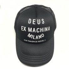 Boné de rede à moda do chapéu de beisebol da malha dos bonés de deus ex machina