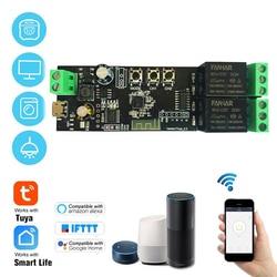2CH Tuya WiFi Switch Module Wireless Wifi Relay 2 Relay Board Smart life Remote Control Smart Home Automation Alexa Google Home