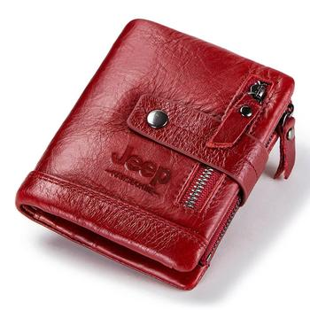 HUMERPAUL Genuine Leather Wallet Fashion Men Coin Purse Small Card Holder PORTFOLIO Portomonee Male Walet for Friend Money Bag 10