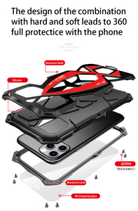Image 3 - Case For iPhone 11 Pro Max Military Waterproof Dustproof Outdoor Activities Full Protection Soft Silicone Cover XR XS MAX Shell