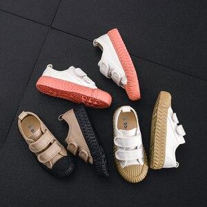 Image 1 - JAKOBBEAR çocuklar tuval rahat ayakkabılar kız erkek çocuk tuval bahçe ayakkabı