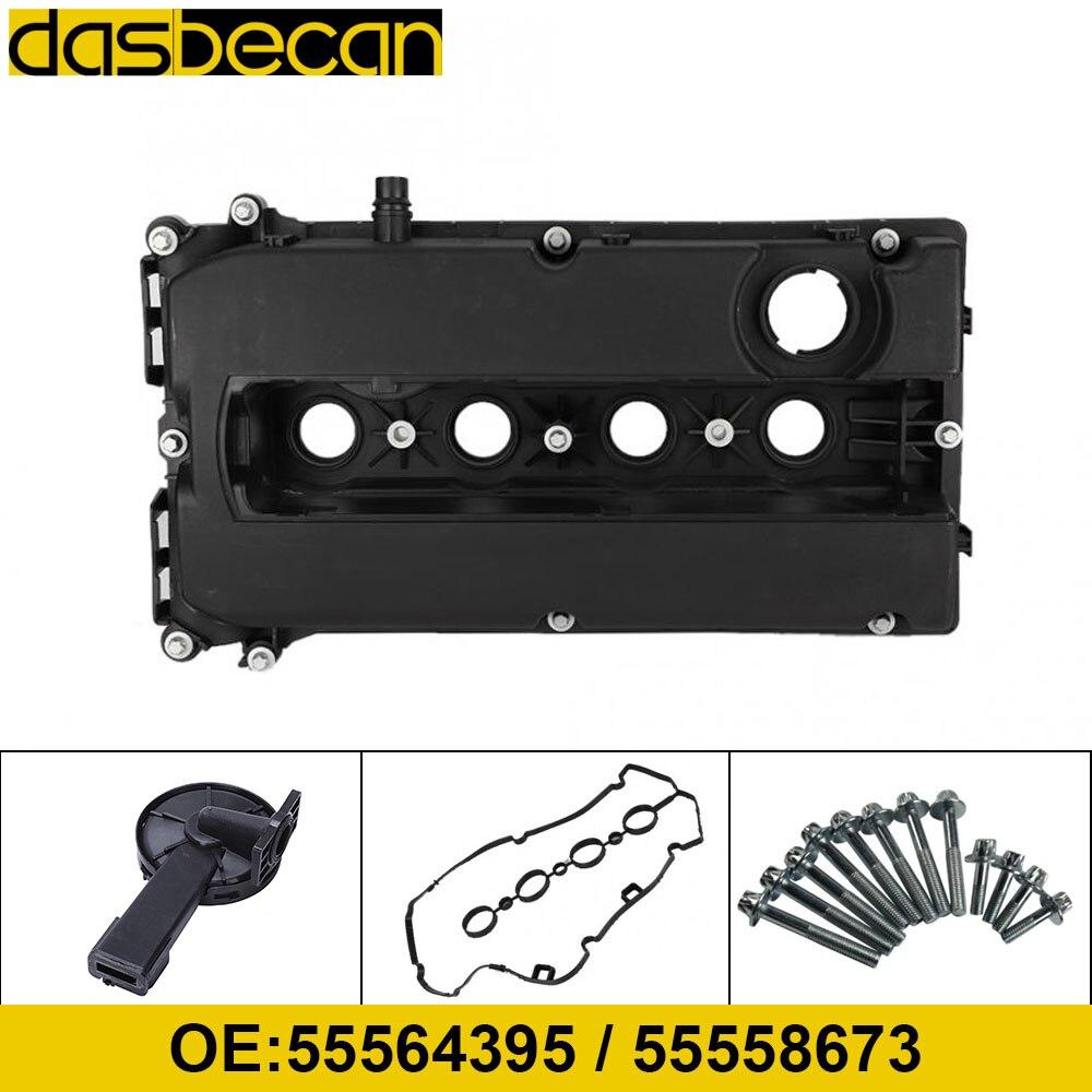 Dasbecan Car Engine Valve Cover Gasket Screws For Chevrolet Aveo Cruze Sonic Pontiac G3 Saturn Astra 08-15 55564395 55558673