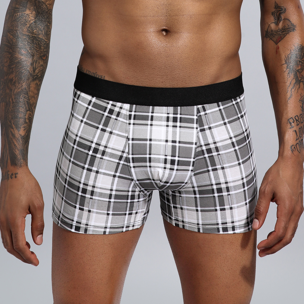 Boxer Men Underwear Clothing Man Cotton Loose Under Wear Plus Size Boxers Boxer Homme Boxer Underpants Men