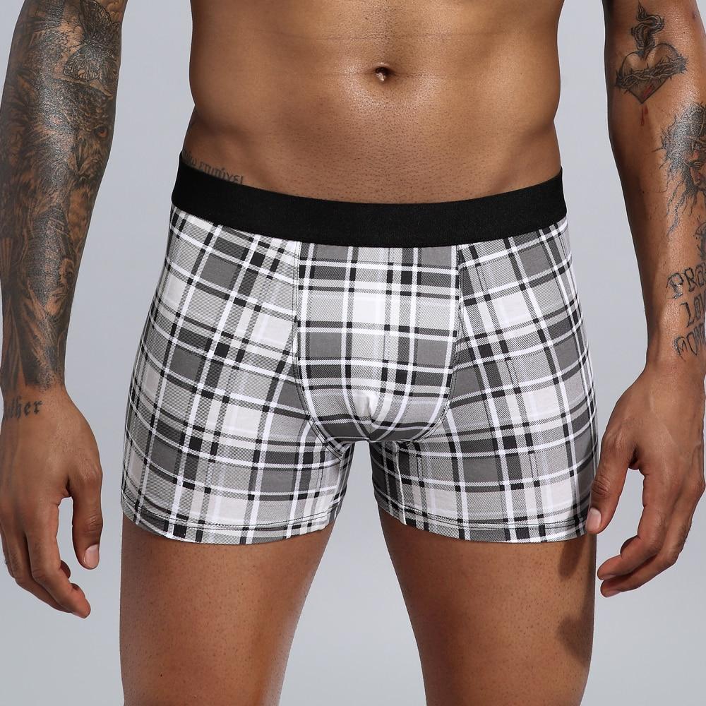 Boxer Men Underwear Clothing Man Cotton Loose Under Wear Plus Size Boxers Boxer Homme Boxer Underpants Men