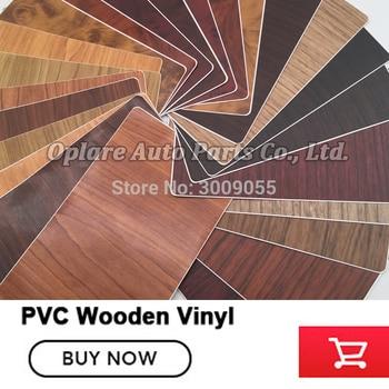 Updated Wood Grain Vinyl Film Wood GrainTextured Furniture Decal Auto decal Waterproof Self-adhesive Car Sticker