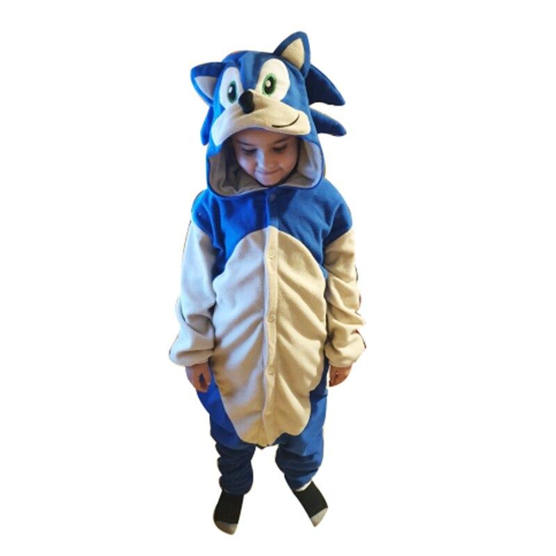 Onesies For Kids Animal Pajamas Fleece Children Kigurumi Girls Cartoon Movie Cosplay Costume Boys One-Piece Pijama Brithday Gift