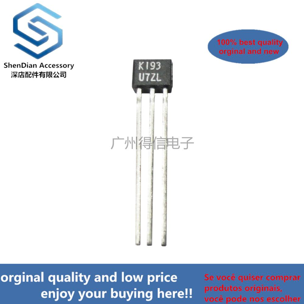 10pcs 100% New And Orginal 2SK193 K193 193 TO-92S In Stock