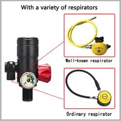 DCCMS scuba diving equipment diving oxygen tank valve outdoor diving accessories M18*1.5 diving accessories