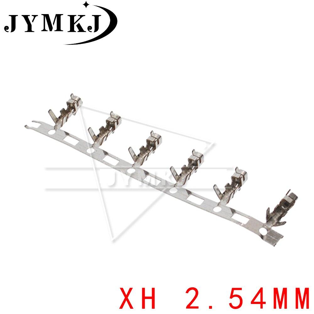 100 шт./лот JST xh2.54 2,54 мм перемычка проводной кабельный терминал для корпуса xh 2,54 разъем «мама» для нескольких контактов