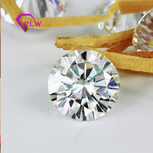 wholesale EF color 3.5ct 9.5mm clarity VVS round Brilliant cut Moissanite for ring earring With Fast Shipping DHL/FedEX/Ups