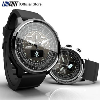 New LOKMAT Smart Watch men Sports Pedometer Bluetooth Waterproof Relogio Call Reminder smartwatch for ios Android phone