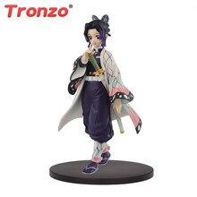 Tronzo original banpresto kimetsu nenhum yaiba figura kochou shinobu pvc figura de ação modelo figurals