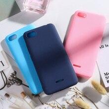 Phone Case For Xiaomi Redmi 6A Matte Candy Solid Color Cover Silicone TPU Soft 6 A Redmi6a Funda