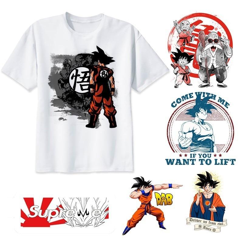 Dragon Ball T Shirt Super Saiyan Dragonball Z Dbz Son Goku Tshirt Japan Vegeta Anime T-shirt Men/Boy Tops Tee Shirt Dropship
