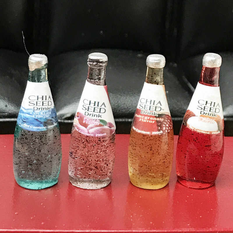 3CM Mini Botol Bir Manik DIY Slime Pesona Mengisi Tambahan untuk Bahan Tanah Liat Tangan Membuat Resin Botol Minuman Slime kerajinan Mainan