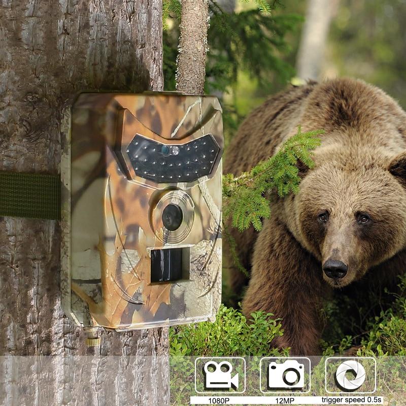 Kamera HD kalis air luar berburu 12MP dengan pengesan haiwan liar - Memburu - Foto 5