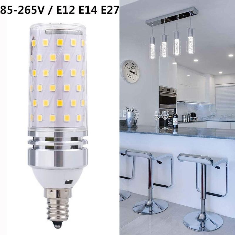 LEADLY E27 LED Lamp 85-265V LED Bulb SMD2835 Corn Bulb Warm White Cold White Chandelier Candle LED Light For Home Decoration