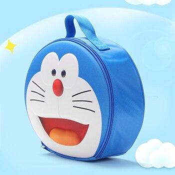 Cartoon Doraemon cute Cosmetic bag Large Capacity Makeup Bag Women Travel Portable Handbag Cosmetic Storage Organizer Bag jnket new travel portable storage bag cosmetic bag waterproof fabric makeup case large capacity handbag tote bag