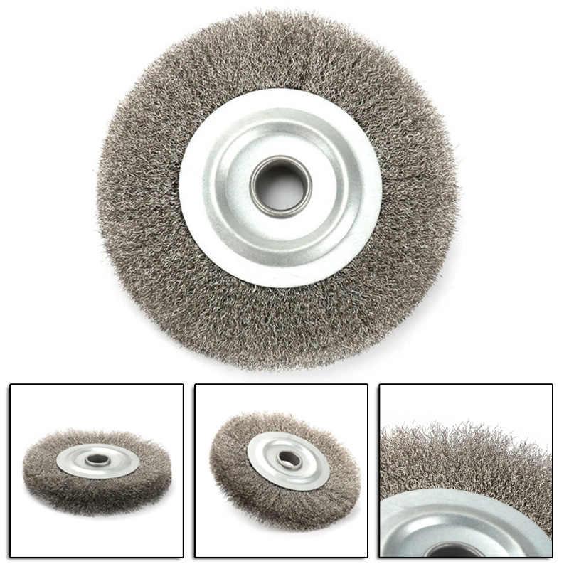 5In Soft Brass Wire Wheel Copper Brush For Deburring Descaling Polishing Fine 1*