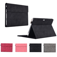 For Microsoft Surface Go 10 inch Case Folio Imitation Leather Stand Cover Shockproof Tablet Cover For Microsoft Surface Go Bag