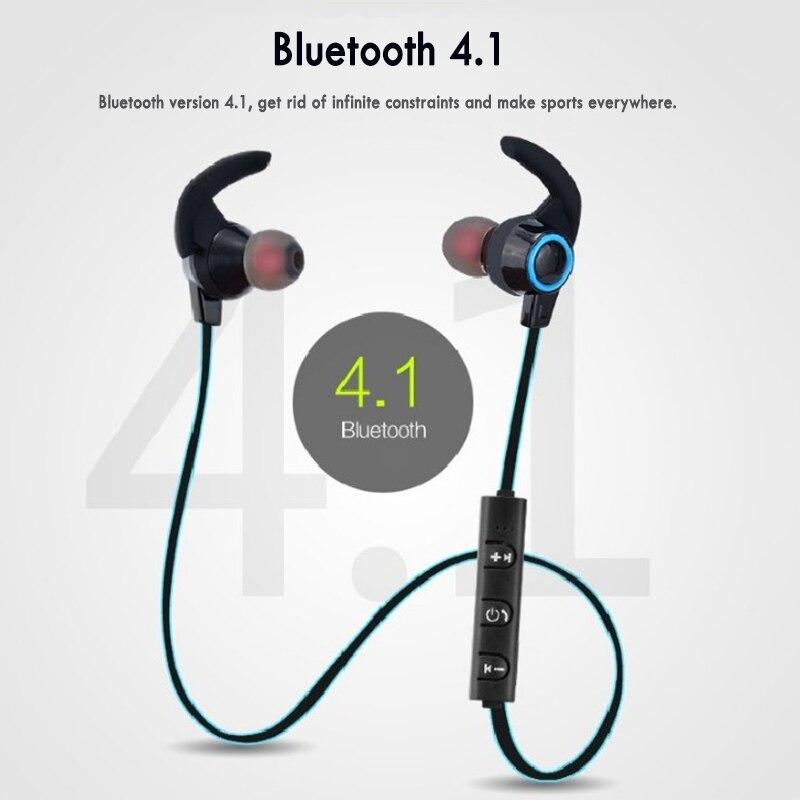 Bluetooth-гарнитура, наушники-вкладыши, стереонаушники, беспроводная Магнитная гарнитура с микрофоном для всех телефонов