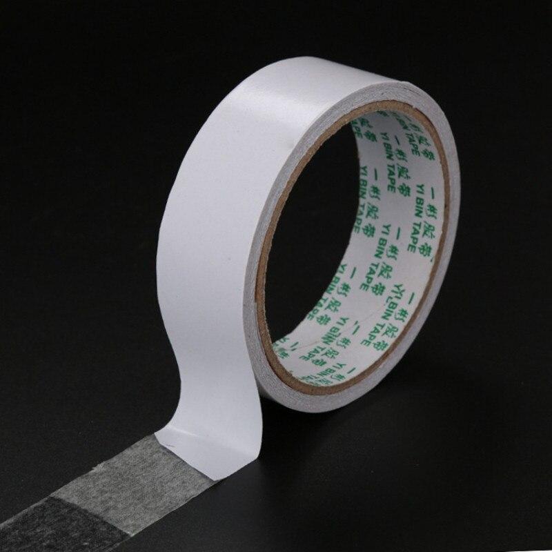 8 м белая супер сильная двусторонняя клейкая лента бумага сильная ультратонкая высококлейкая хлопковая Двусторонняя лента Прямая поставка