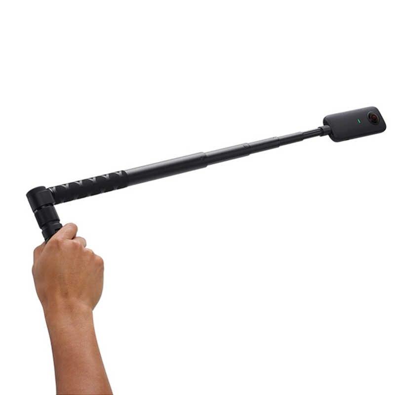 Dönen zaman Selfie sopa tutucu Tripod Monopod Insta360 One X/bir 360 panoramik kamera aksesuarları
