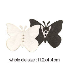 Металлические режущие штампы костюм двойная бабочка 2020 новая