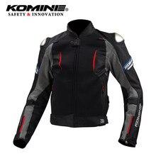 2019 le nouveau! KOMINE JK107 veste en titane Street Moto Touring Sport vestes avec Protection du cou