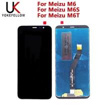 Display lcd para meizu m6 lcd para meizu m6s lcd para meizu m6t display lcd digitador da tela de montagem completa