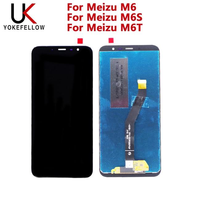 Lcd Display Voor Meizu M6 Lcd Voor Meizu M6S Lcd Voor Meizu M6T Lcd Display Screen Digitizer Complete Montage