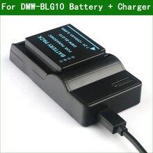DMW BLG10 BLE9 Digital Camera Battery + Charger For Panasonic DMC GF3 GF5 GF6 GX7 GX80 GX85 LX10 LX15 LX100 TZ80 TZ81 TZ82 TZ85