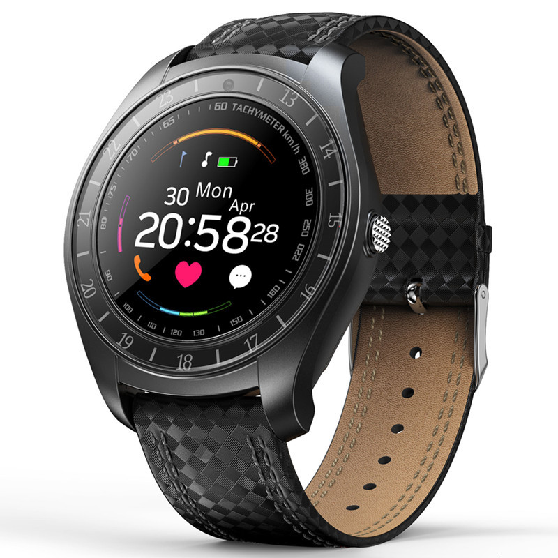 Fashion Smart Phone Watch Smart Watch Men Android Sim Camera <font><b>V10</b></font> Blood Pressure Heart Rate Fitness <font><b>Smartwatch</b></font> Bluetooth Speaker image