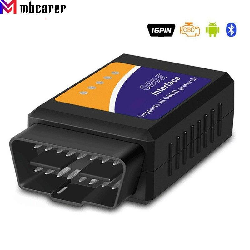 ELM327 V1.5 OBD2 Bluetooth Car Diagnostic Scan Tool Support Android V1.5 TT55501 ELM327 OBDII Auto Car Scanner for Ford Forscan