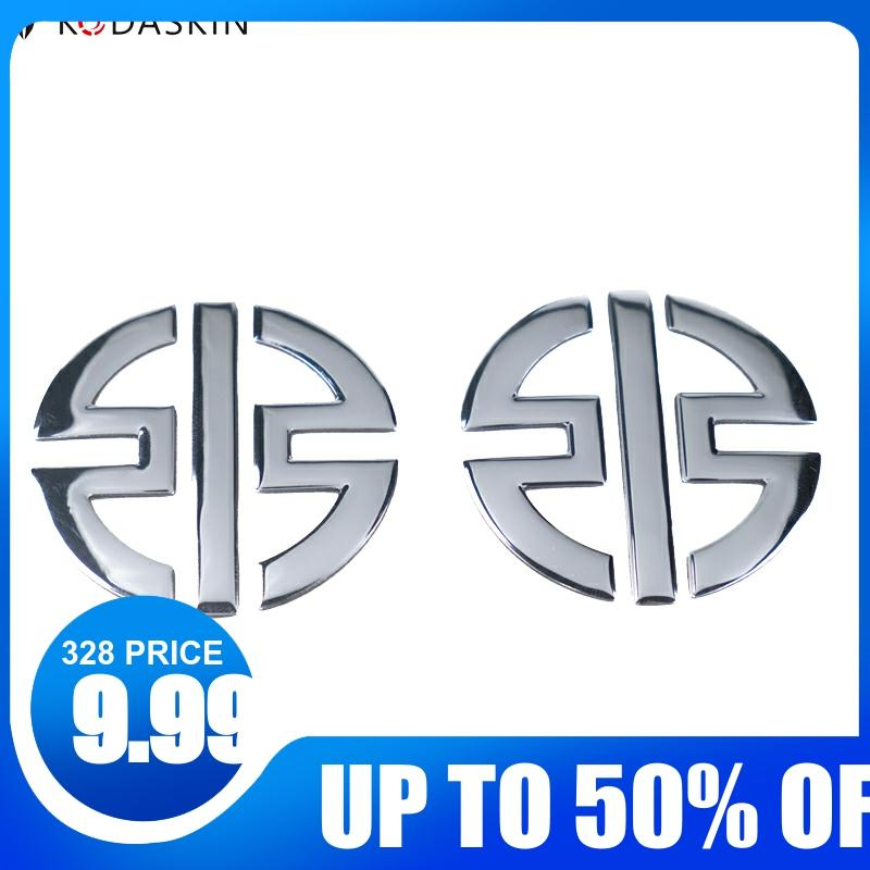 2 Pcs NINJA Logo Reflective Stickers Motorcycle Decals Stickers Best Gift