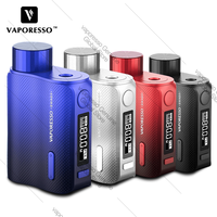 New Original Vaporesso Swag 2 TC Box Vape Mod 80W with AXON Chip No 18650 Battery Mod Box vs Vaporesso Gen/ Vaporesso LUXE