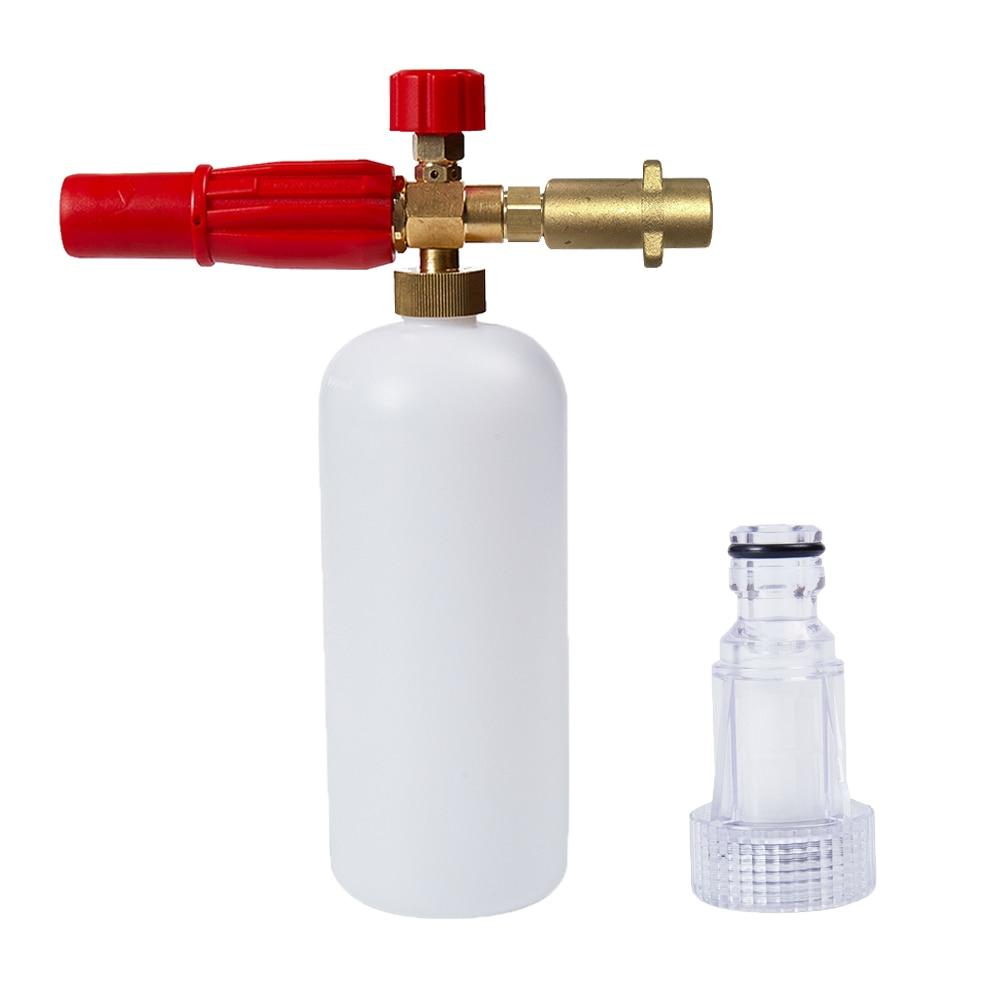 Pressure MJJC Snow Foam Lance Gun Kit Car Wash 1L Bottle Jet Soap Spray Cannon