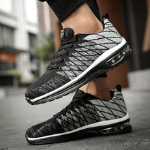 men sports shoes running Summer breathable casual low top ru