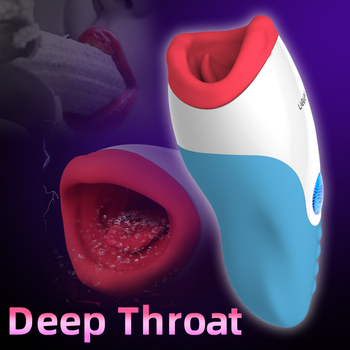 Blowjob Masturbator Deep Throat Oral Sex Interaktive Masturbation Sex Maschine mit Heizung 1