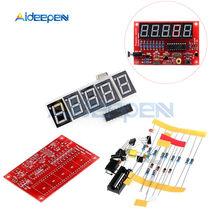 Bricolage Kits RF cristal oscillateur fréquence compteur compteur 1Hz-50MHz Programmable numérique LED testeur de cristal compteur 5V alimentation