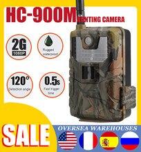 Caméras de chasse et de suivi des sentiers HC900M 20MP 1080P, pièges photos, Vision nocturne, 2G, SMS, MMS, SMTP, courrier électronique, cellulaire