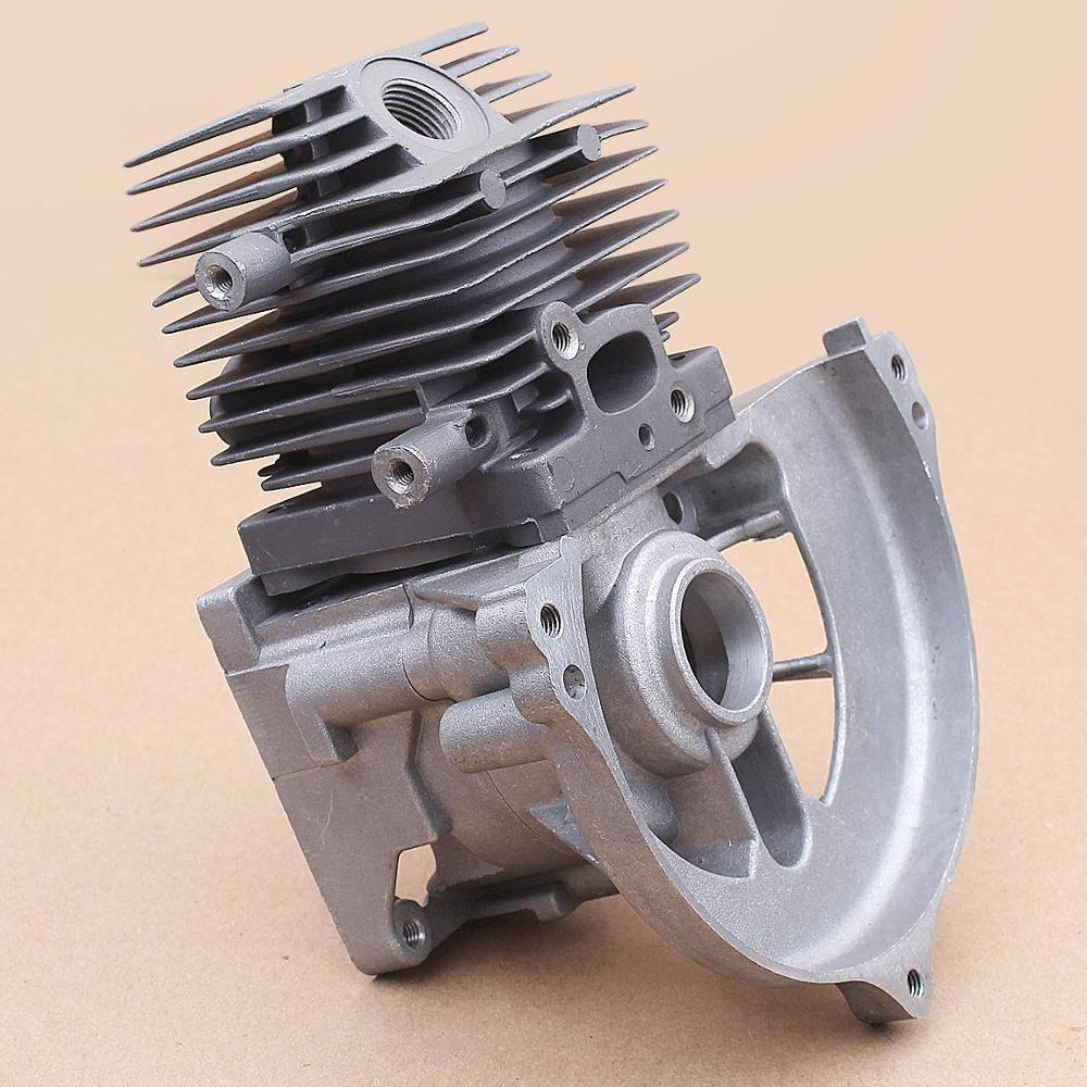 Piston Cylinder Base Crankcase Assembly For Stihl Fs75 Fs80 Fs85 Fc80 Trimmer Brush Cutter 4137 020 1202 Replacement Patrts Lawn Mower Aliexpress