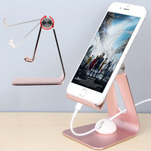 Mobile Phone Holder Stand Aluminium Alloy Metal Tablet Stand For Samsung Xiaomi Huawei Universal Phone Holder For iPad iPhone XS mobile phone holder aluminium alloy metal desktop tablet holder for universal tablet
