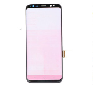Image 5 - ORIGINAL SUPER AMOLED S8 LCD For SAMSUNG Galaxy S8 G950 G950F S8Plus G955 G955F With Burn red mark LCD Touch Screen Digitizer