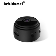 Mini caméra de surveillance IP WiFi hd 1080P, dispositif de sécurité domestique sans fil avec détection de mouvement et Vision nocturne