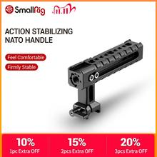 SmallRig NATO Rail Handle Grip With Mounting Points Shoe Mounts for Cameras/ Camcorder/ Action Camera/Camera Cages 1955