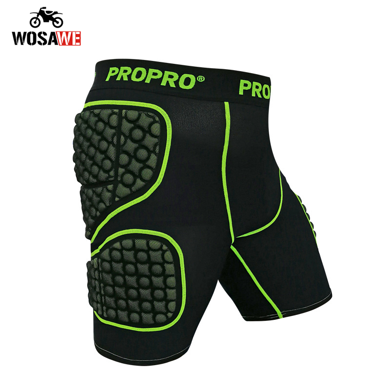 PROPRO Motorcycle Hip Pad Shorts Motocross Hip protection Unisex Light Skateboard Snowboard Ski Hip Pad Shorts Protective Gear