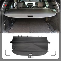 for Ford Explorer 2011-2018 Quality Black Interior Trims Accessories  Rear Trunk Retractable Cargo Luggage Cover