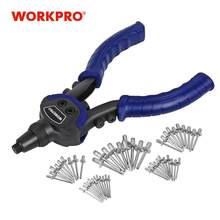 "WORKPRO 10 ""Riveter Gun mit Niet Mutter Blind Niet Pistolen Hand Nieten Kits Hause DIY Nägel Pistole(China)"
