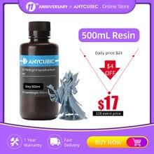 Resina de anycúbico 405nm 1l para a impressora mono 3d sla da resina sensível uv material de impressão líquida fotossensível uv resina